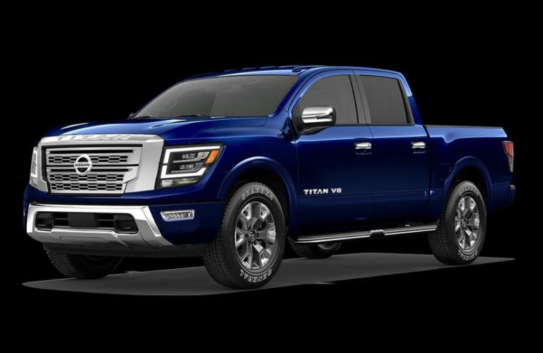 2020 Nissan TITAN Deep Blue Pearl Metallic