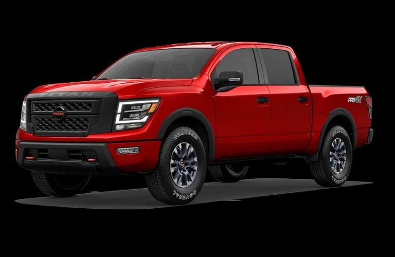 2020 Nissan TITAN Red Alert