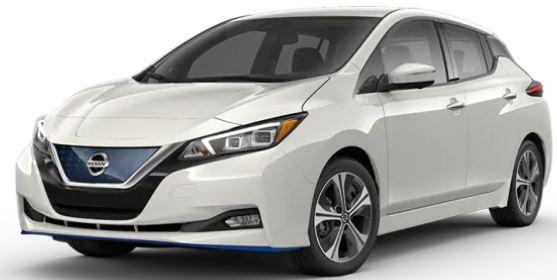 2020 Nissan LEAF Pearl White TriCoat