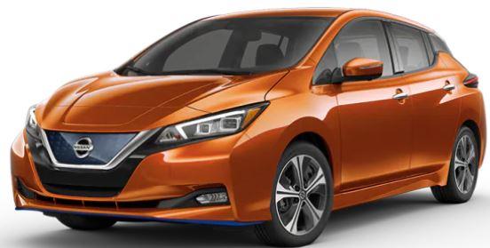 2020 Nissan LEAF Sunset Drift ChromaFlair