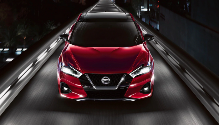 2020 Nissan Maxima from the front