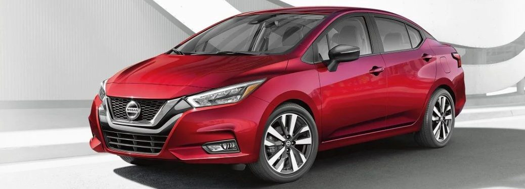 List of 2021 Nissan Versa Paint Options