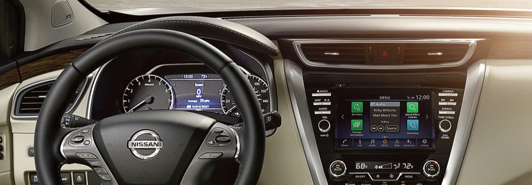 2020 Nissan Murano Technology & Multimedia Feature Highlights