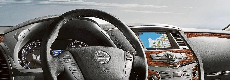 2020 Nissan Armada dashboard