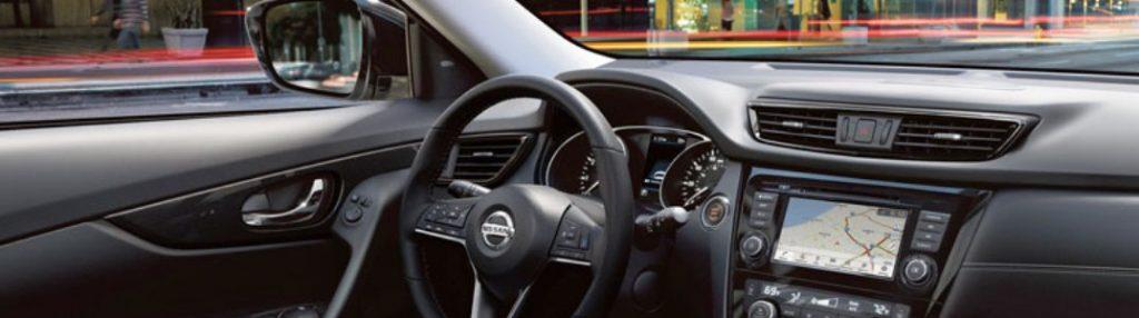 2020 Nissan Rogue dashboard
