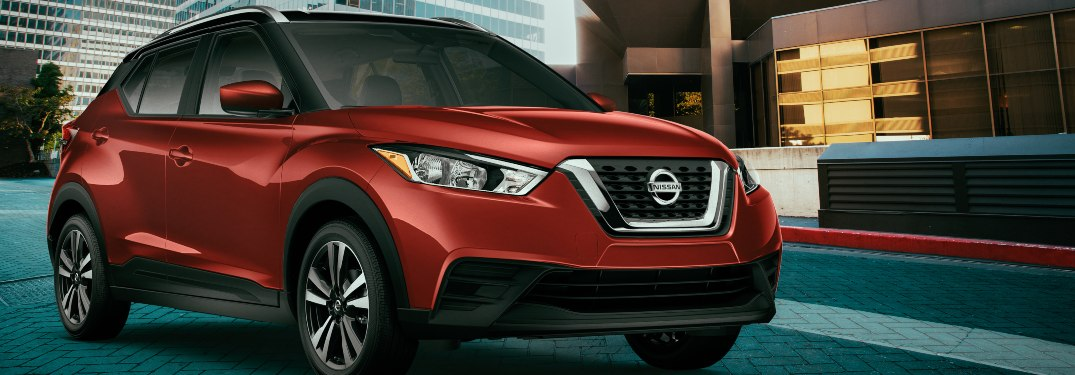 2020 Nissan Kicks parked inside a building