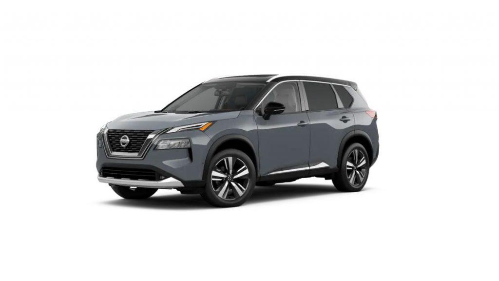 2021 Nissan Rogue Boulder Gray/Super Black