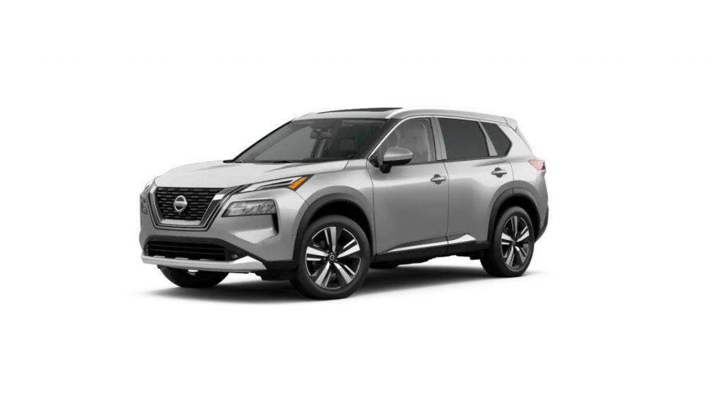 2021 Nissan Rogue Brilliant Silver