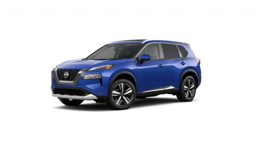 2021 Nissan Rogue Caspian Blue