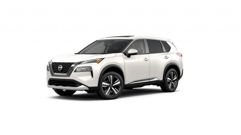 2021 Nissan Rogue Pearl White