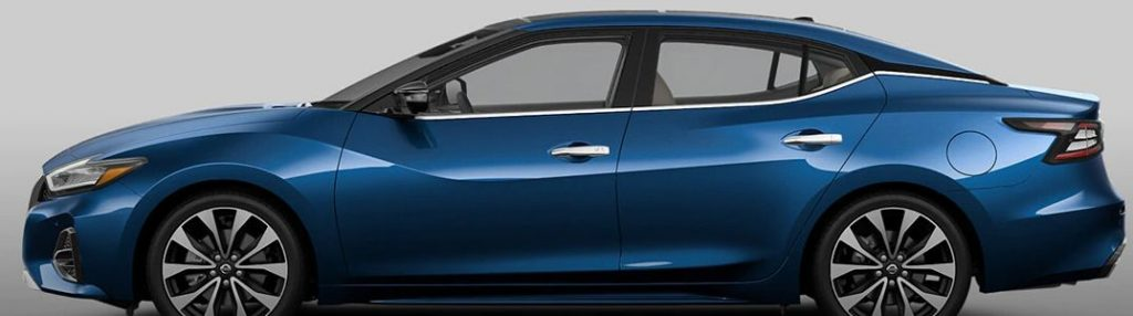 2021 Nissan Sentra from the side