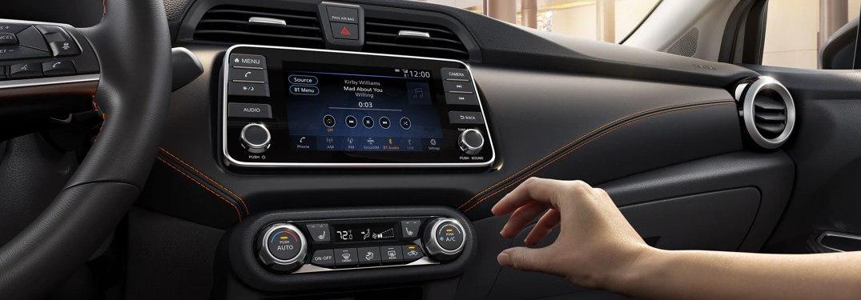 2021 Nissan Versa infotainment system