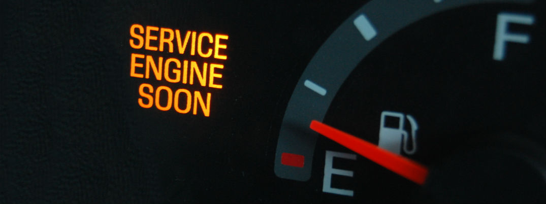 What does the service engine soon light mean