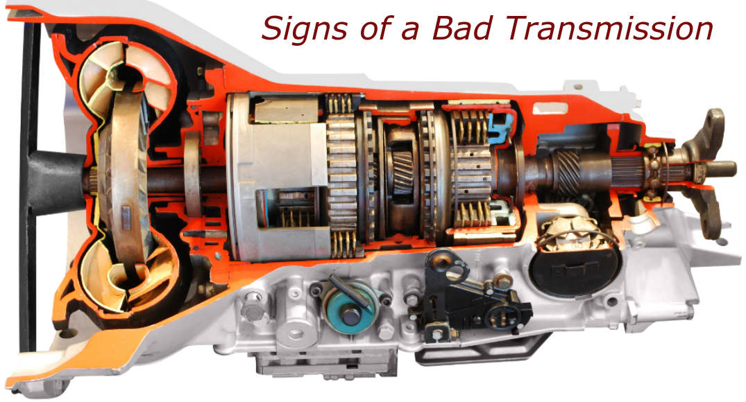 Signs Of Transmission Going Out >> 4 Signs Your Automatic Transmission Is Going Bad