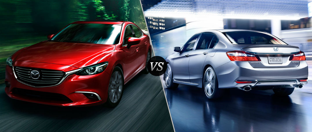 2016 mazda 6 takes down honda accord in new comparison. Black Bedroom Furniture Sets. Home Design Ideas