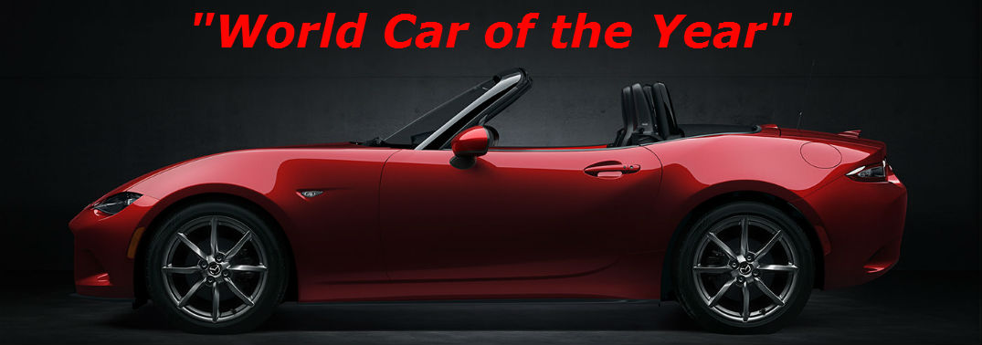 2016 Mazda MX-5 Awards