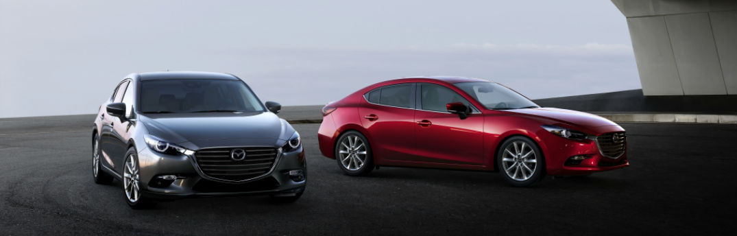 Performance specs for 2017 Mazda3 sedan and hatchback show both power and efficiency
