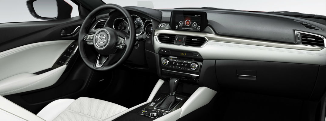 2017 Mazda6 Entertainment and Connectivity Features