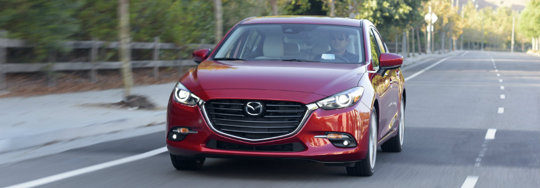 2017 Mazda3 trim level comparison