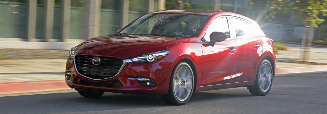2017 Mazda3 oil change schedule