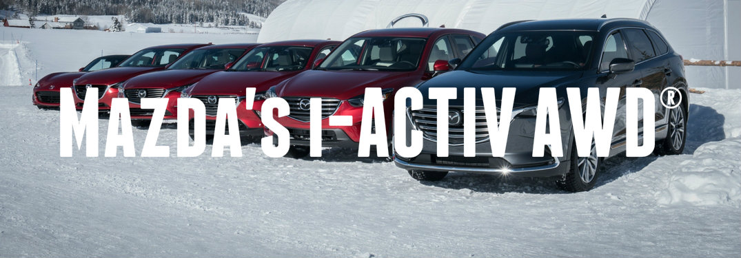 Mazda's i-ACTIV AWD® vs regular AWD