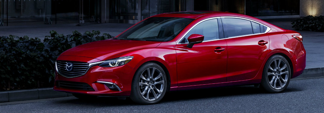 2017 Mazda6 exterior color options