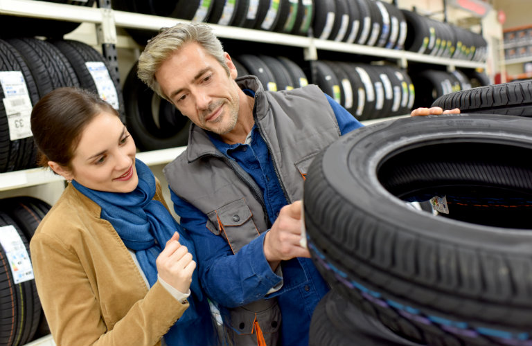 Replacing your car's tires at 50,000 miles