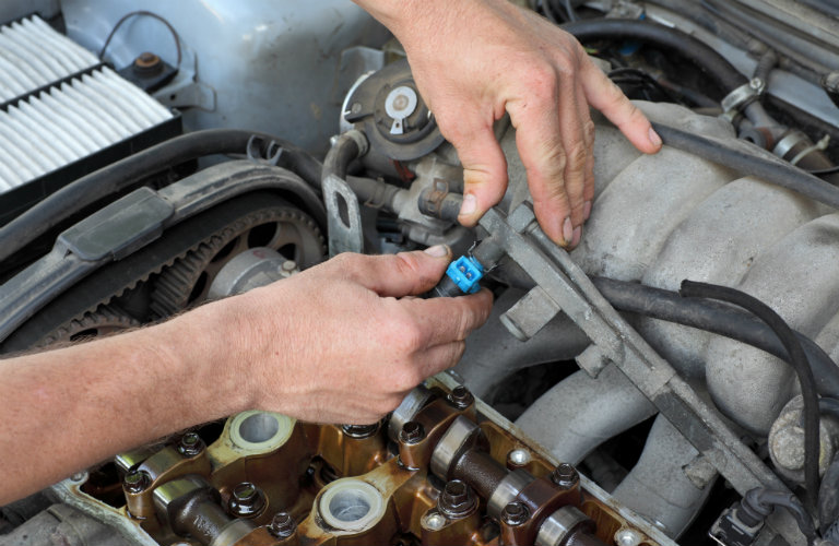 Servicing your engine at 50000 miles