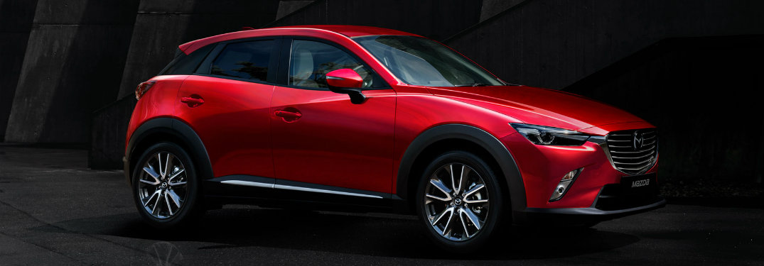 mazda cx-3 color options