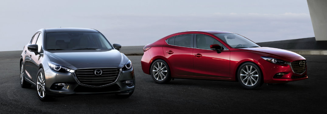 2018 Mazda3 color options
