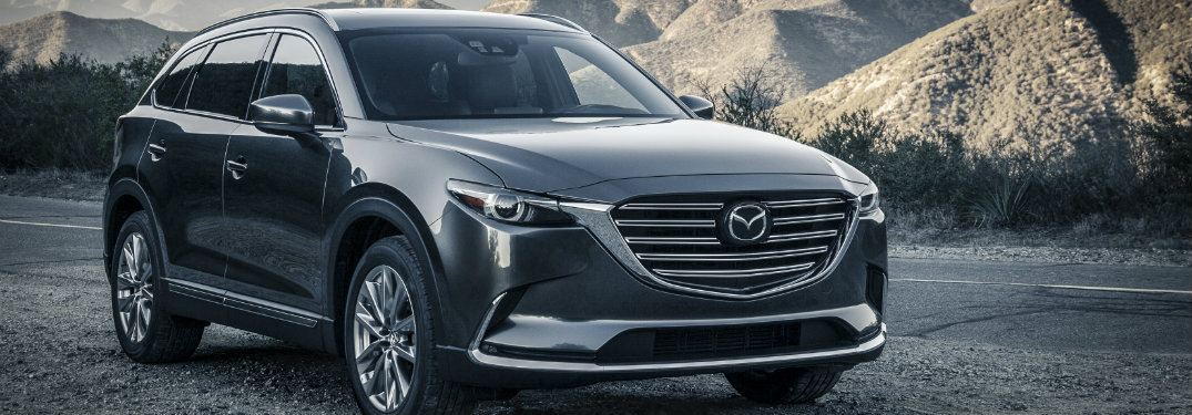 Does the 2017 Mazda CX-9 have a leather interior