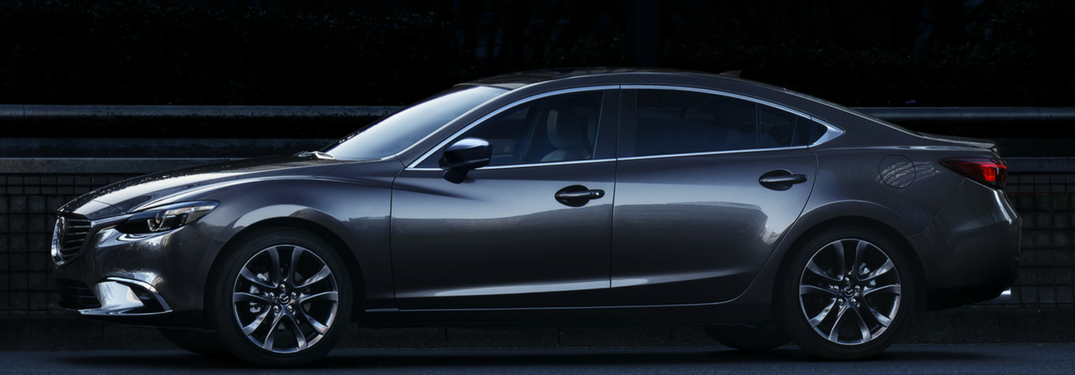 2017.5 Mazda6 in gray side view
