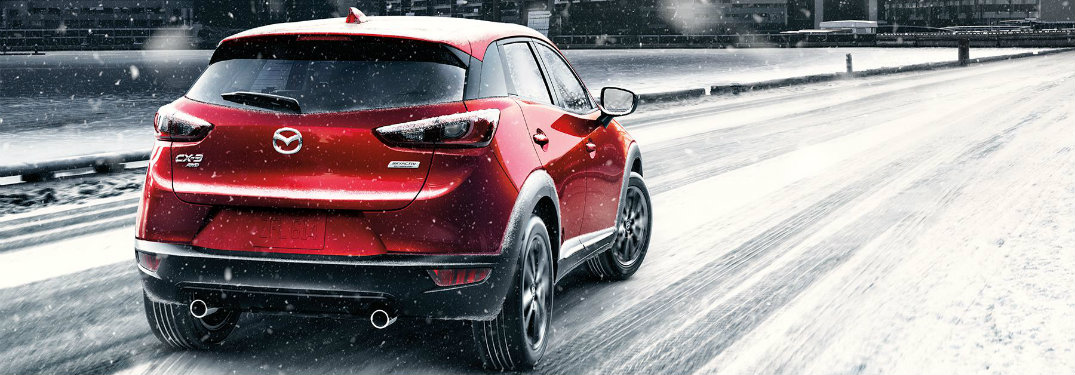 How many trims does the 2018 Mazda CX-3 come in?