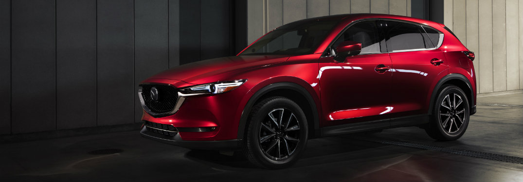 Red-2018-Mazda-CX-5-in-dimly-lit-garage