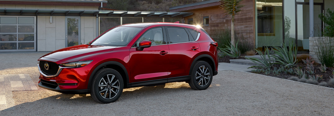 2018-Mazda-CX-5-parked-outside-house