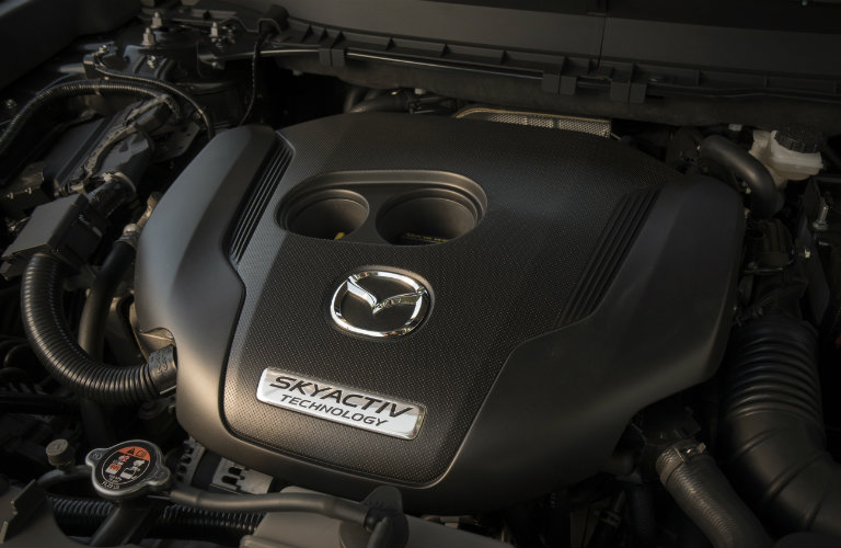 2018-Mazda-CX-9-SKYACTIV-G-engine
