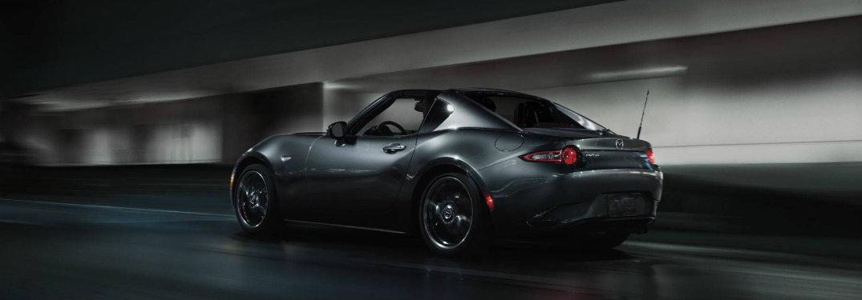 2018-Mazda-MX-5-Miata-RF-driving-down-dimly-lit-road