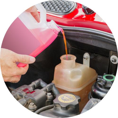 Mazda Engine Coolant