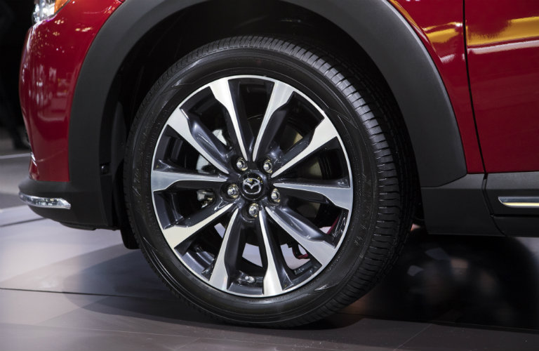 mazda cx-3 front left tire