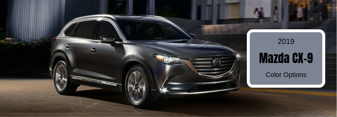 How Many Paint Colors are Offered for the 2019 Mazda CX-9?