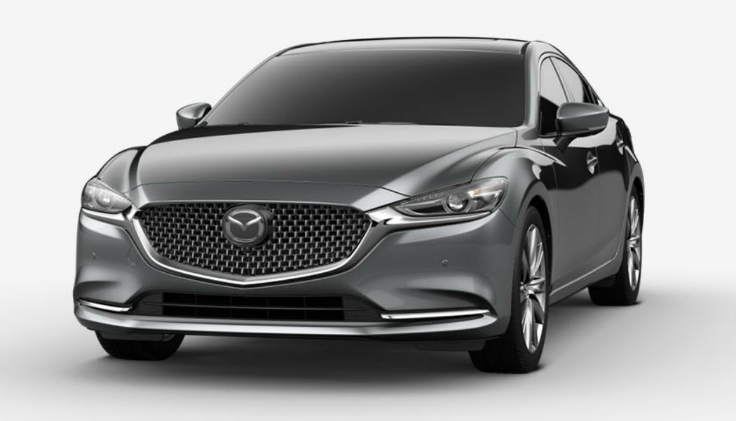 2019 Mazda6 in Machine Gray Metallic