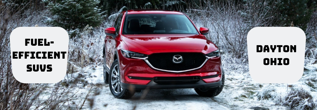 Take a Look at the Fuel-Efficient Mazda SUV Lineup