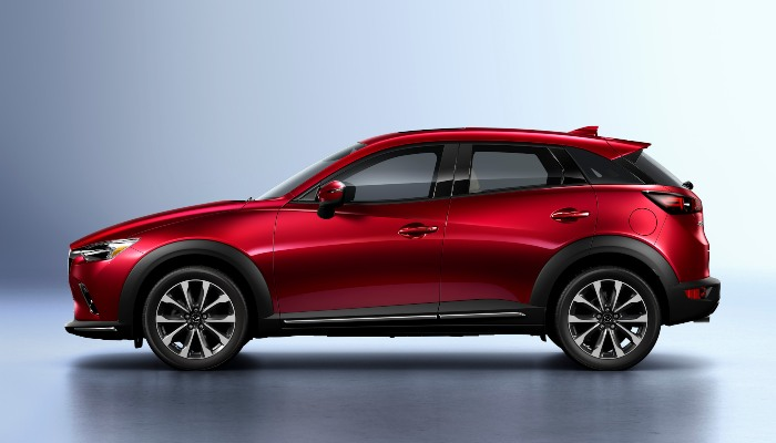 2019 Mazda CX-3 from the side