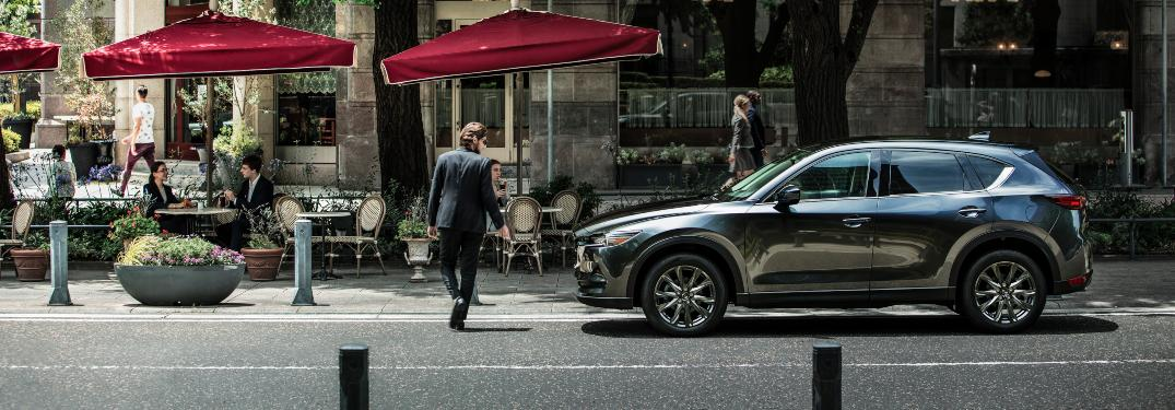 How much cargo can the 2019 Mazda CX-5 carry?