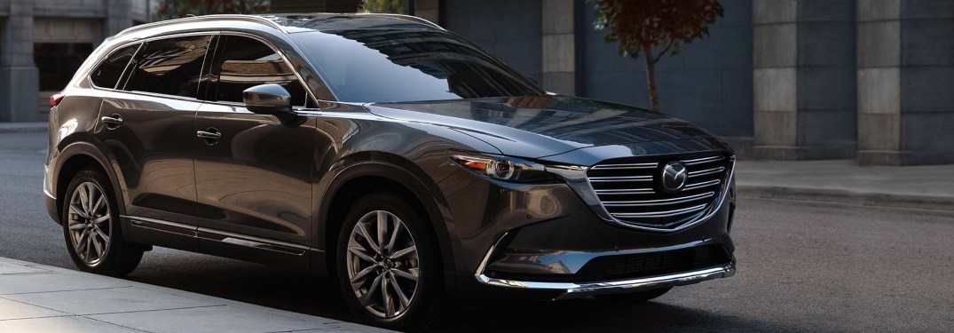 2019 Mazda CX-9 parked on a city street