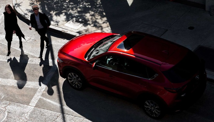 2019 Mazda CX-5 from above