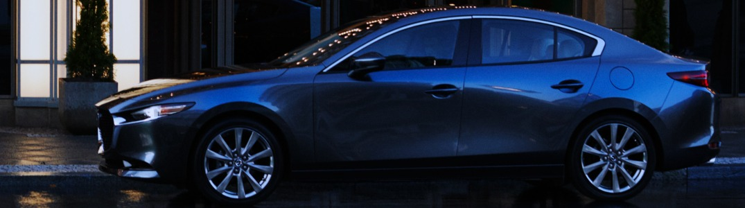 2019 Mazda3 from the side