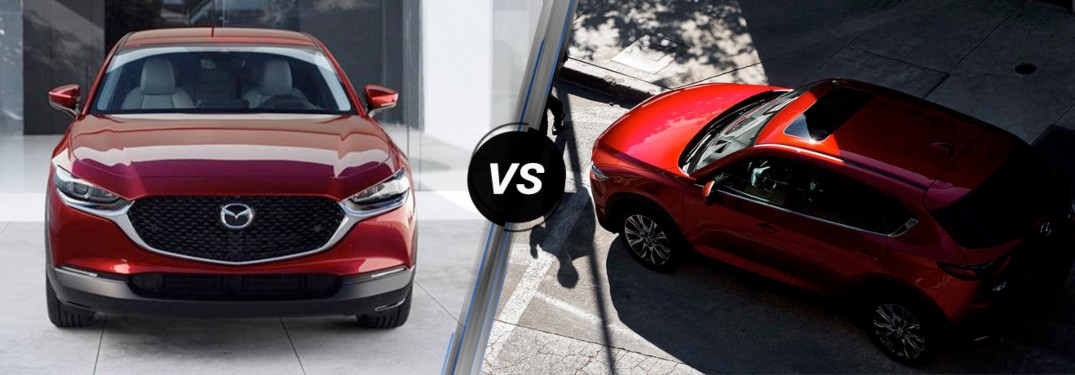 What's Different Between the 2020 Mazda CX-30 and the 2019 Mazda CX-5?