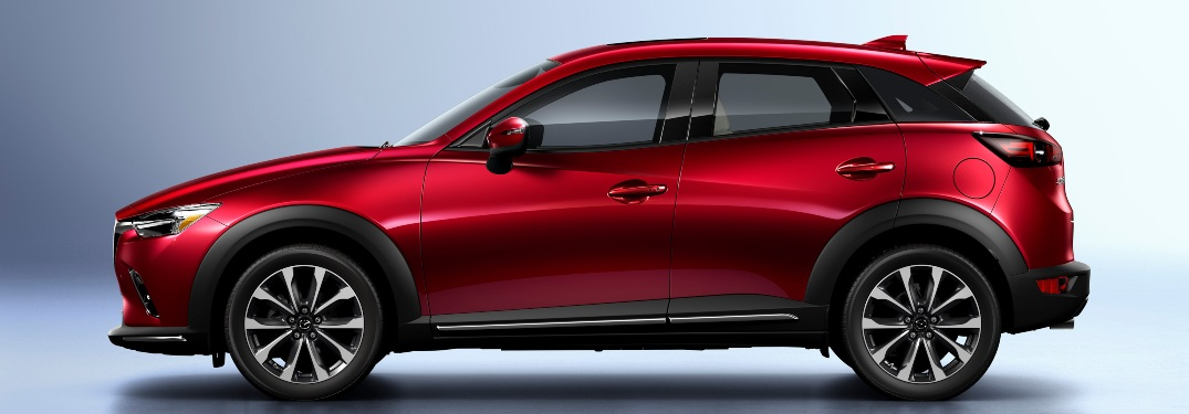 2019 Mazda CX-3 Grand Touring from the side