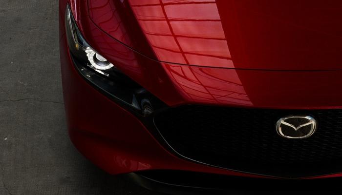 2020 Mazda3 Hatchback hood